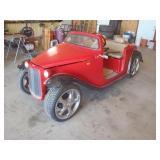 1932 Ford California Roadster Golfcart