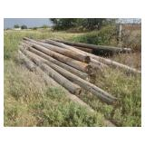 Line poles, various lengths