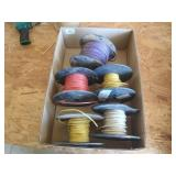 5 partial rolls of 14 AWG wire