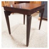 Wood Table, swivels
