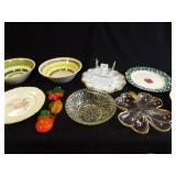 Bowls, Plates, Egg Plate Wall Pieces (10+)