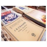 Piano Books, Sheet Music