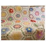 Quilt -  handmade, Blue Blanket