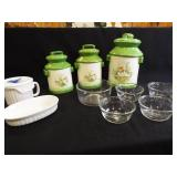 Canister Set, Pyrex, Corning (11)