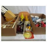 Kitchen Utensils, Knives - 2 boxes