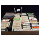 8-Track Tapes (40+), CDs (10+)
