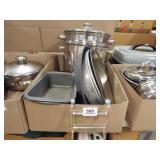 Pots, Pans, Electric Skillet
