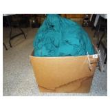 Bedspread, Linens - large box