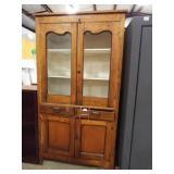 Wood Storage/Display Cabinet