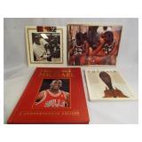 Michael Jordan Prints (2), Books (2)