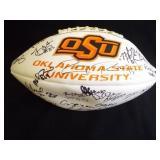 Oklahoma State U. Autographed Football