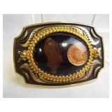 Belt Buckle - 1898 Coin, Arrowhead