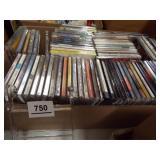 Music CDs - 1 box