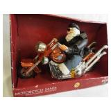 Motorcycle Santa, in box
