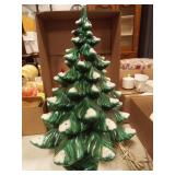 Ceramic Christmas Green Tree, 3 pieces