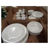 Noritake Snowville Dish Set (