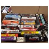Audio Books - Variety - most CD - 2 boxes