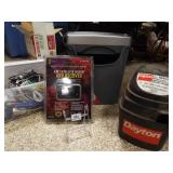 Shredder, Vacuum, Cords, XM Receiver
