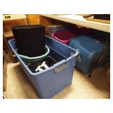 Tubs, Trash Can, Laundry Basket (8)