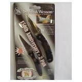 Smith&Wesson 2 Pak Knives, in pkg