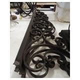 Ornamental Metal Pieces - 2 matching