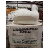 Floater Snow Goose Decoys in box (4)