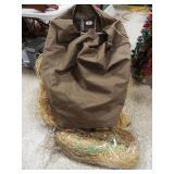 Tangle Free Camflouge Bag, Blind Material
