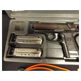 Ruger P95 9mm Handgun w/2 clips in case