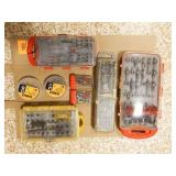 Power Tool Bit Sets Boxer, DeWalt & various brands
