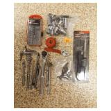Socket Sets, Soldering Iron, Small Crescent Wrench