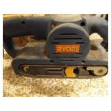 Ryobi Electric Belt Sander and Battery Charger