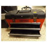 Craftsman Toolbox with top and 2 drawers