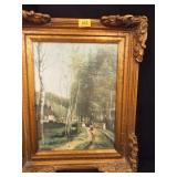 Corot Framed Artwork