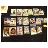 Baseball Cards, 19 total, Michael Jordan baseball