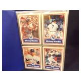Mickey Mantle Baseball Cards + others