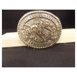1984 National Finals Rodeo Buckle