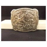 1985 National Finals Rodeo Buckle