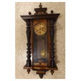 wood Wall Clock (Ornate)