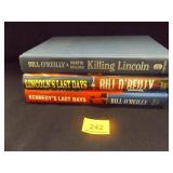 Lincoln/Kennedy Books by Bill O