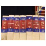 Zane Grey Hardback Book Series - 11 count