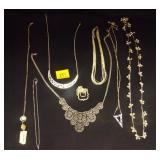 Lot of Costume Style Necklaces (8 total)
