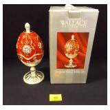 Silver-plated Musical Holiday Egg