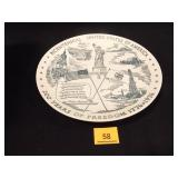 United States of America Bicentennial Plate; (16)
