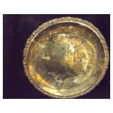 "Silver Tray Large 18"" diameter (Round)"