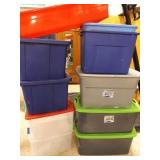 Plastic Tubs for Storage