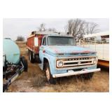 1966 Chevy Truck with Hoist