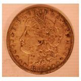 1882 MORGAN DOLLAR, NO MARKINGS
