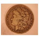 1882 MORGAN DOLLAR, S MINT