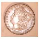 1886 MORGAN DOLLAR, NO MARKINGS