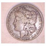 1890 MORGAN DOLLAR CC MINT